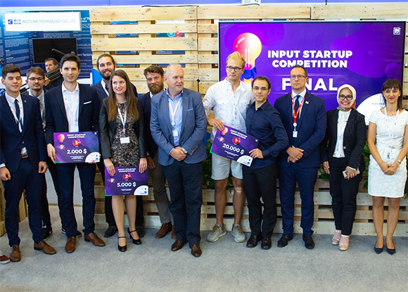 input startup competition