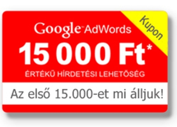 Google AdWords kupon