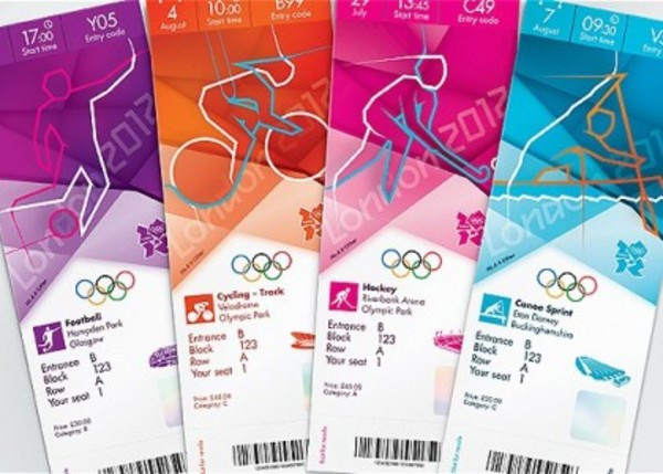 ticket london olympics 2012 sale jegy olimpia