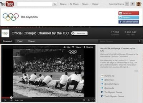 youtube olimpia